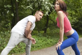 Soukromý trénink vystřídá romantický sex! (Matt Ice)