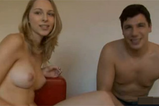 Shy 20-year old Cathy at her first audition - Czech porn
