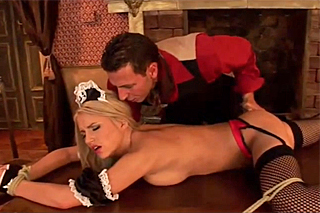 Castle master makes the deepest sexual desires of his maid come true